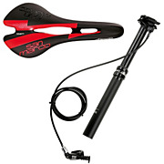RockShox Reverb Post + Selle San Marco Saddle