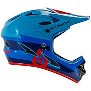661 Comp Bolt Helmet - Red-Blue 2016
