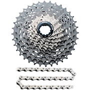 Shimano XTR M980 10sp Cassette + Chain Bundle