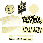 Total BMX Mixed Sticker Pack