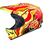 Troy Lee Designs D2 Helmet - Galaxy Red 2015