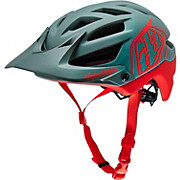 Troy Lee Designs A1 Helmet - Drone Grey-Red 2016