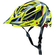 Troy Lee Designs A1 Helmet - Reflex Yellow 2016