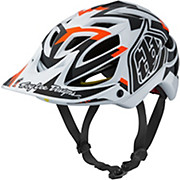 Troy Lee Designs A1 MIPS Helmet - Vertigo White 2016