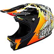Troy Lee Designs D2 Helmet - Invade Black 2016