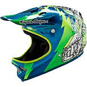 Troy Lee Designs D2 Helmet - Invade Green 2016