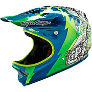 Troy Lee Designs D2 Helmet - Invade Green 2016