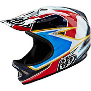 Troy Lee Designs D2 Helmet - Sonar Red-White 2016