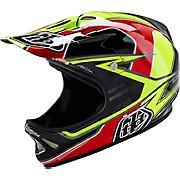Troy Lee Designs D2 Helmet - Sonar Yellow 2016