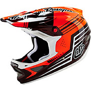 Troy Lee Designs D3 Carbon - Bezerk Red 2016