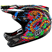 Troy Lee Designs D3 Carbon - Blacklight Black 2016