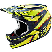 Troy Lee Designs D3 Carbon - Reflex Yellow 2016
