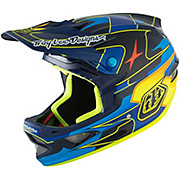 Troy Lee Designs D3 Carbon MIPS - Render Blue 2016