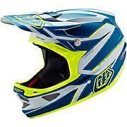 Troy Lee Designs D3 Composite - Reflex Grey-Yellow 2016