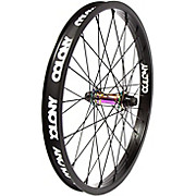 Colony Pintour Front BMX Wheel - Rainbow