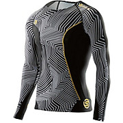 Skins DNAmic Broken Maze Long Sleeve Top SS16