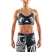 Skins Womens DNAmic Living Lines Crop Top SS16