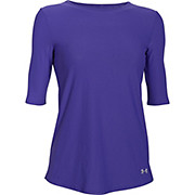 Under Armour Womens Coolswitch Run Elbow SS Top AW16