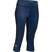 Under Armour Womens Heatgear Armour Printed Capri 2016