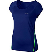 Nike Womens Run Free Framed Short Sleeve Top SS16