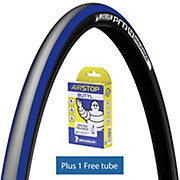 Michelin Pro4 ENDURANCE V2 Blue + FREE Tube