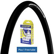 Michelin Pro4 ENDURANCE V2 Black 25c + FREE Tube