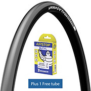 Michelin Pro4 ENDURANCE V2 Lead 25c + FREE Tube