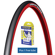 Michelin Pro4 COMP V2 Red Tyre + FREE Tube