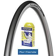 Michelin Pro4 SERVICE COURSE V2 Silver + Tube