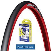 Michelin Pro4 SERVICE COURSE V2 Red + Tube