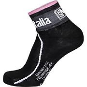 Santini Giro dItalia Maglia Nero Line Socks 2016
