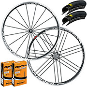 Campagnolo Shamal Ultra Wheelset Tyre & Tube Bundle 2016