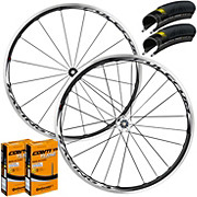 Fulcrum Racing 3 Wheelset Tyre & Tube Bundle 2016