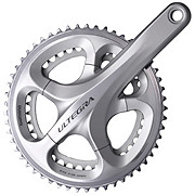 Shimano Ultegra 6700 Double 10sp Chainset Silver
