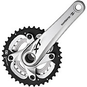 Shimano XT M785 10 Speed Double Chainset Silver