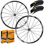 Shimano RS31 Road Wheelset Tyre & Tube Bundle