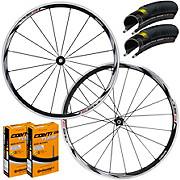Shimano RS31 Road Wheelset Tyre & Tube Bundle
