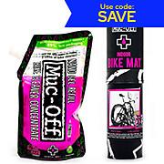 Muc-Off Bike Mat and 500ml Nano Gel Concentrate