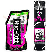 Muc-Off Bike Mat and 500ml Nano Gel Concentrate