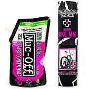 Muc-Off Bike Mat and 500ml Bike Cleaner