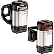 Lezyne KTV Drive Front & Rear Silver Light Set