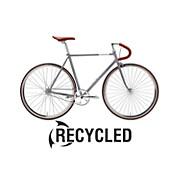 Creme Vinyl Solo Fixed Gear Bike - Ex Display 2016