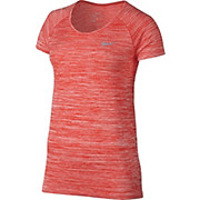 Nike Womens Dri-FIT Knit Short Sleeve Top
