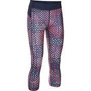 Under Armour Womens HG Armour Printed Capri SS17