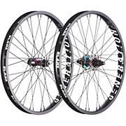 Blank Generation XL BMX Wheelset - Rainbow