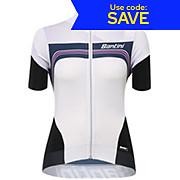 Santini Womens QOM Short Sleeve Jersey SS17