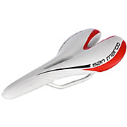 Selle San Marco Aspide Open White Red Edition Saddle