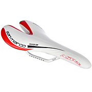 Selle San Marco Aspide White Red Edition Saddle
