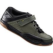 Shimano AM5 MTB SPD Shoes - Green 2017