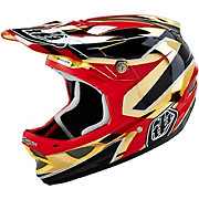 Troy Lee Designs D3 Composite - Reflex Gold Chrome 2016